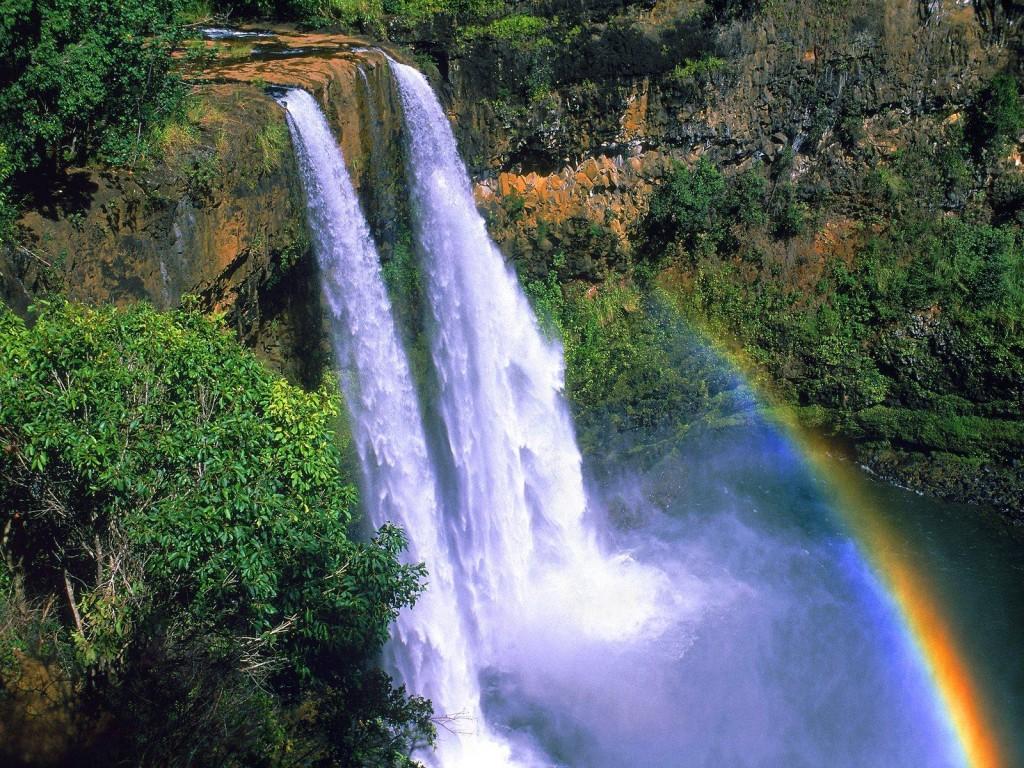 cascada Wailua, Hawaii