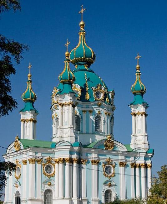 Biserica Sfantul Andrei, Kiev