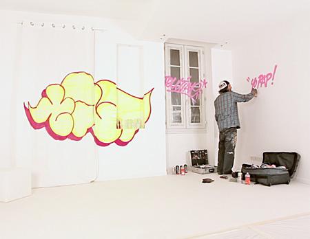 Camera cu Graffiti