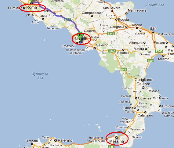 Harta Sudul Italiei