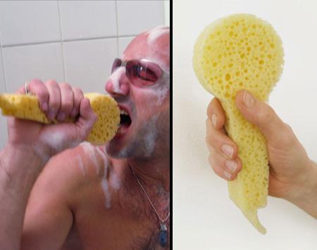 microfon pentru baie