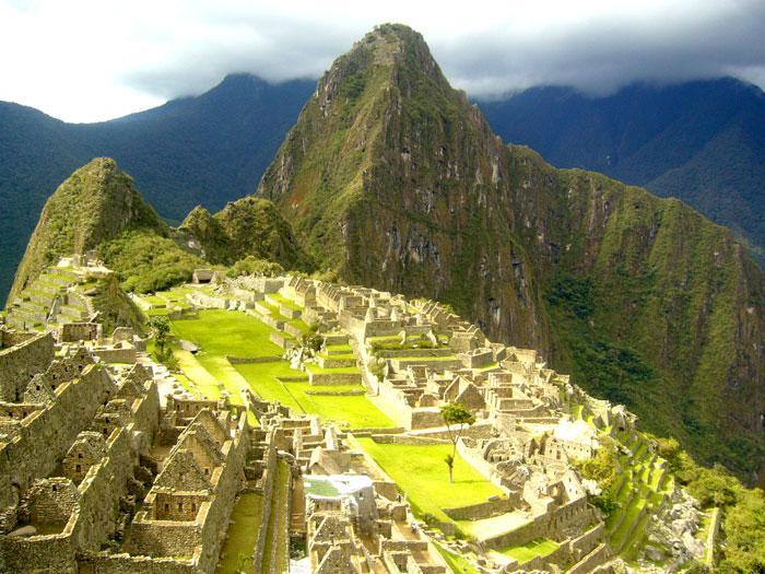 ruinele orasului Machu Picchu