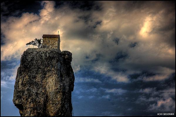 biserica de pe stanca Katskhi