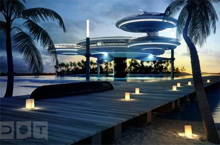 Hotelul de sub apa - Dubai