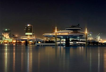 Panorama hotelul de sub apa Dubai