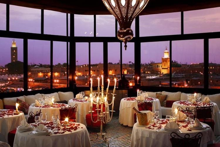 Restaurant stil Romantic