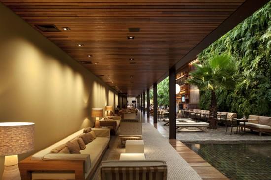 Restaurant stil Tropical
