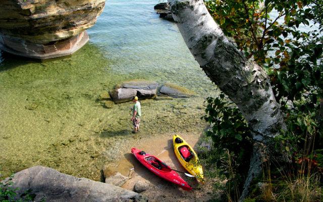 Turnip Rock Lacul Huron 5