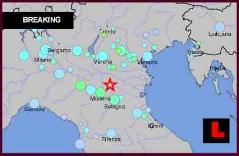 orase afectate cutremur Italia