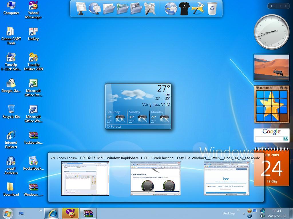 Skin Windows 8 pentru XP, vista si 7
