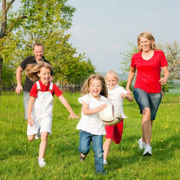 sport in familie
